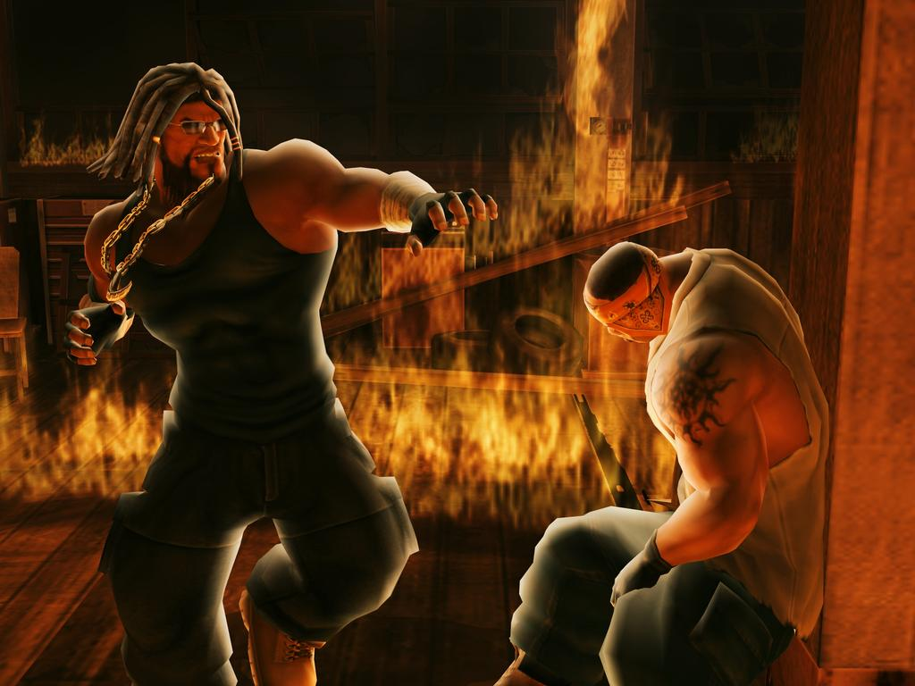 Def jam fight for ny: the takeover - story mode: part 4 (psp fight for ny the takeover psp