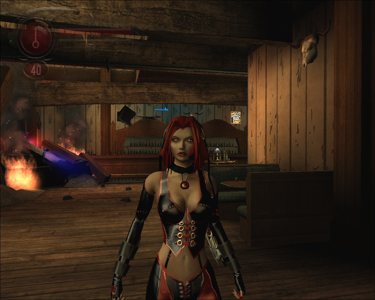 Bloodrayne 2 skins cartoon scenes