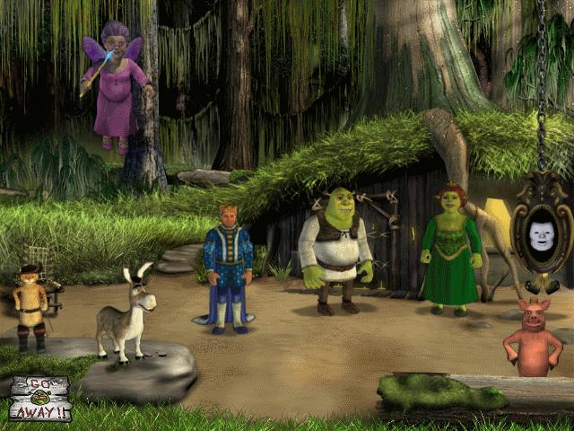 скачать игру Shrek 2 The Game шрек 2 полная русская версия торрент - фото 9