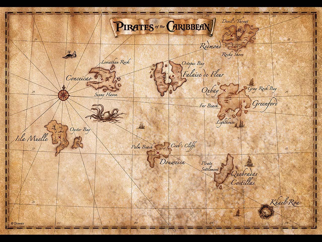 Старинные карты сокровищ. отдых и путешествия. добавил mario.