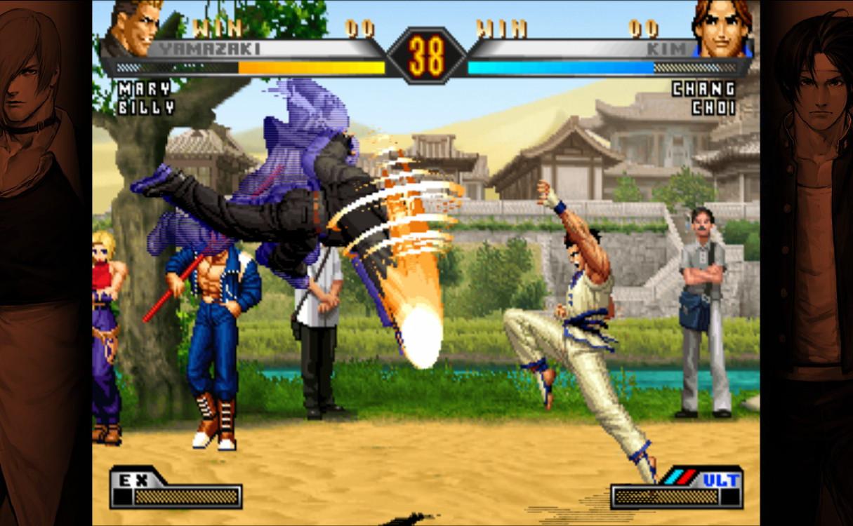 Галерея игры the king of fighters xii :: все изображения