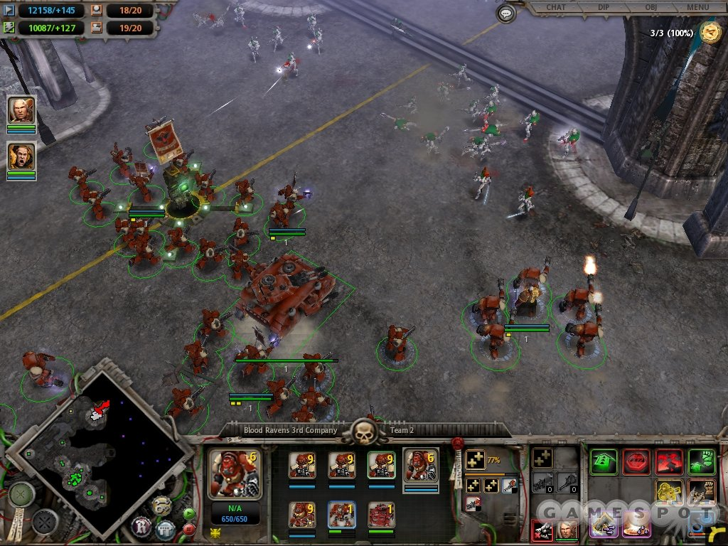 how to play a dawn of war 3 map