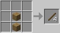 Палки Minecraft