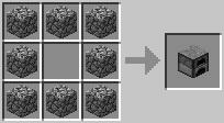 Печь Minecraft
