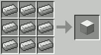 Блок железа Minecraft