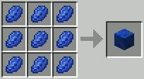 Блок ультрамарин Minecraft