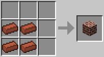 Блок кирпичей Minecraft