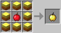 Золотое яблоко Minecraft