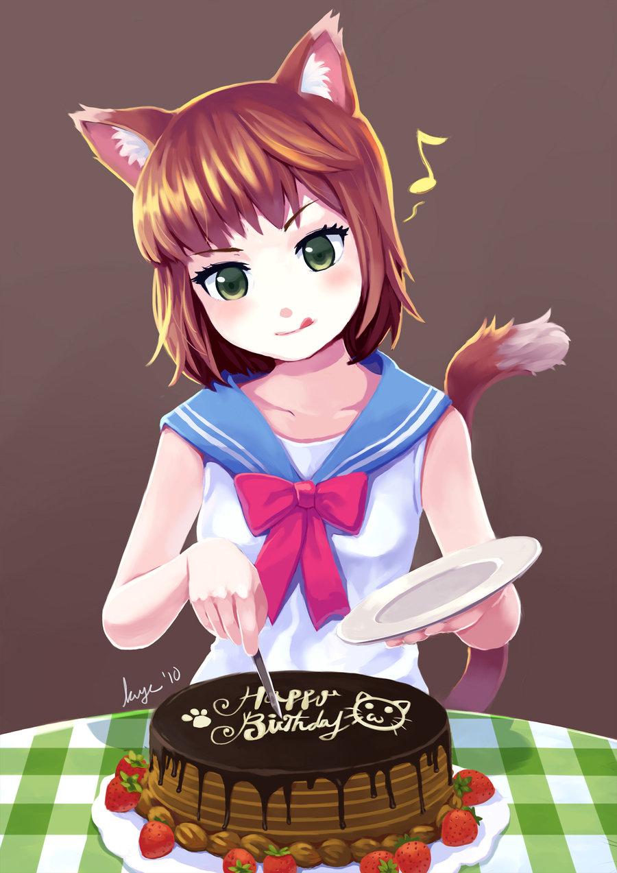 Картинки с днем рождения аниме - Поздравок 17