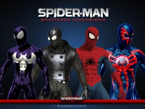 В spider man shattered dimensions предстоит играть
