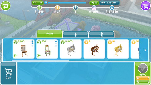 How To Buy A Rocking Horse On Sims Freeplay