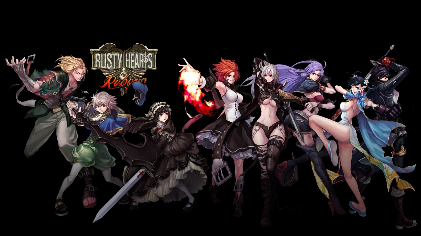 Rusty Hearts Characters Wwwtopsimagescom
