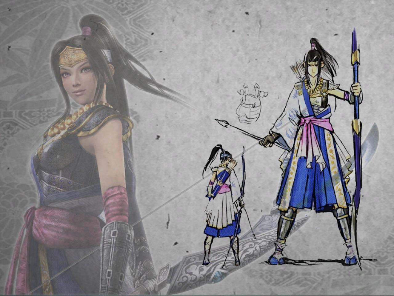 Samurai warriors inahime hentai porn movie